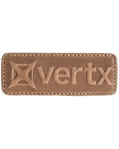 VERTX LEATHER PATCH TAN
