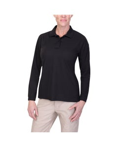 WOMEN'S COLDBLACK LONG SLEEVE POLO