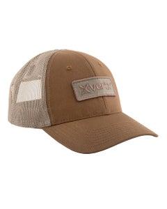 VERTX COYOTE BROWN TRUCKER HAT