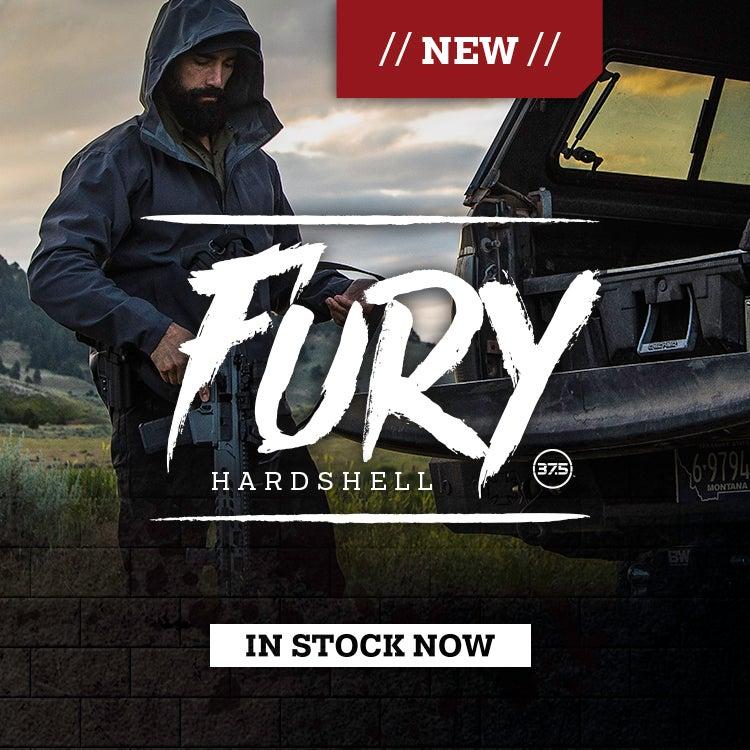 Furry Hardshell Jacket