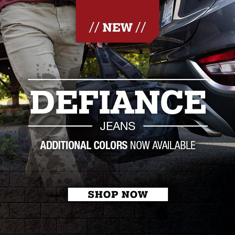 Defiance Jeans New Colors