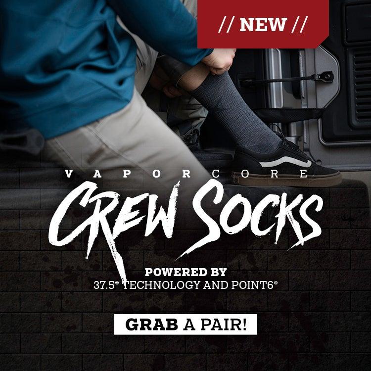VaporCore Crew Socks
